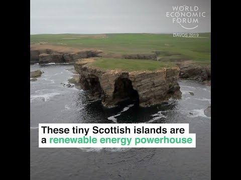 These tiny Scottish islands are a renewable energy powerhouse