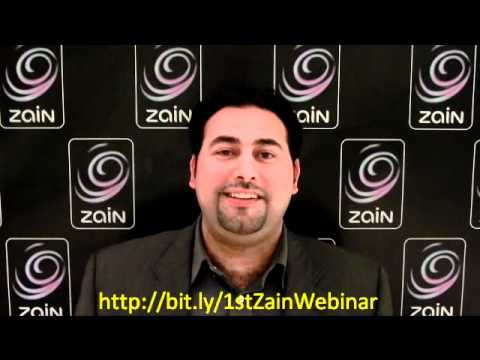 1st Zain Webinar | Zain Broadband 2.0 Announcement