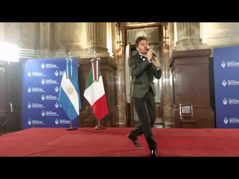 GIUSEPPE GAMBI ITALIA PATRIA INNO DEGLI ITALIANI NEL MONDO SENATO DELLA NAZIONE IN ARGENTINA
