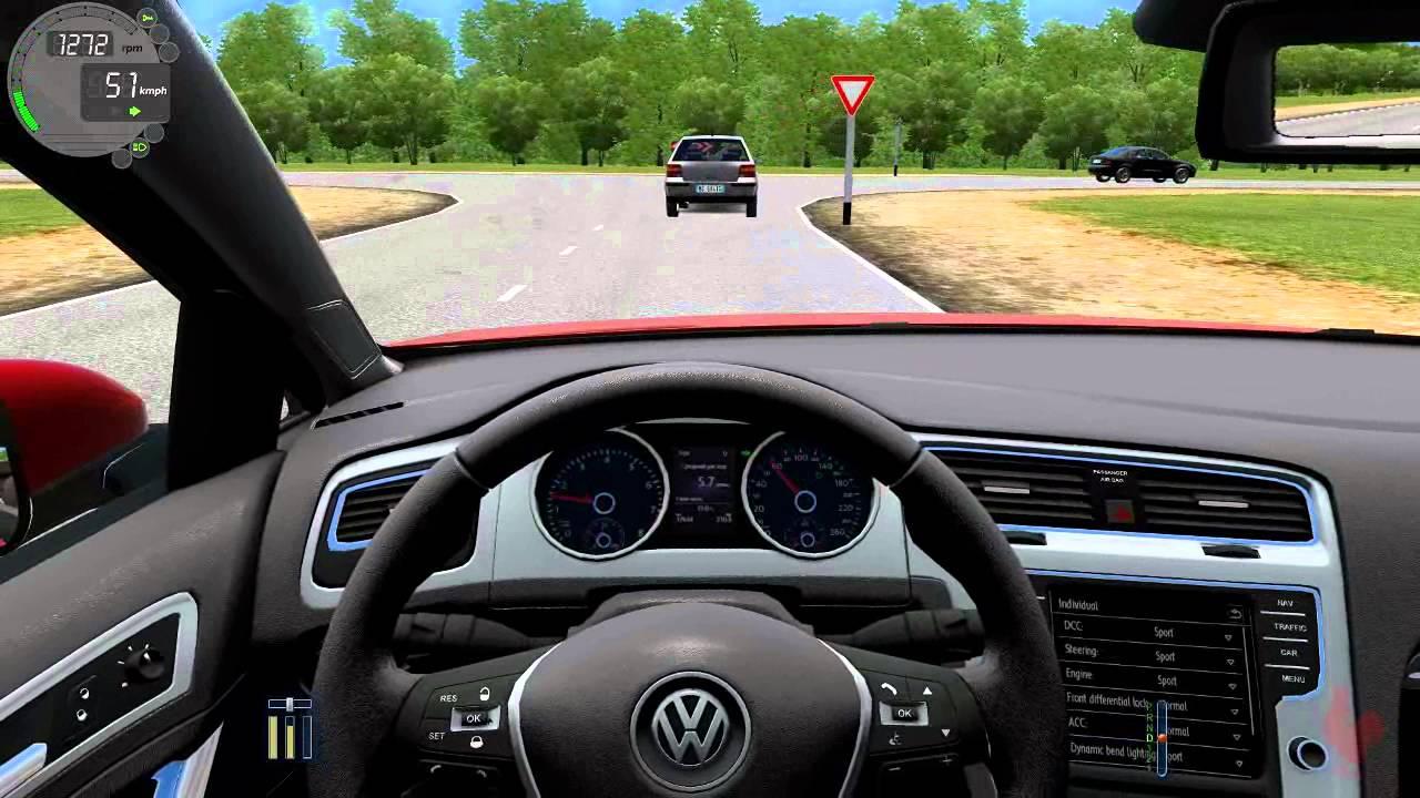 city car driving volkswagen golf gti revo stage 3 k04. Black Bedroom Furniture Sets. Home Design Ideas