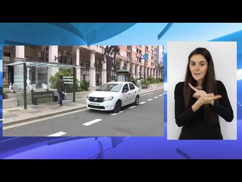 Los taxistas pasarán a la Gran Vía cuando se establezcan las señales viarias necesarias