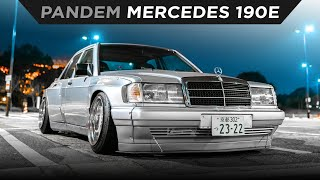 homepage tile video photo for KEI MIURA'S DAILY DRIVEN PANDEM MERCEDES 190E | TOYO TIRES | [4K60]
