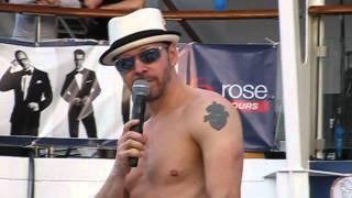 NKOTB Cruise 2013 - Joe Surprises at Backrub