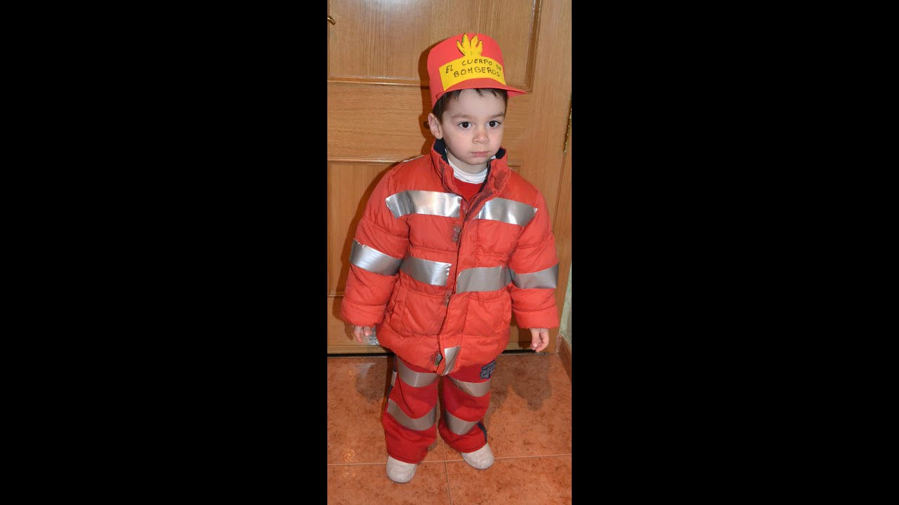 Como hacer una chaqueta de bombero
