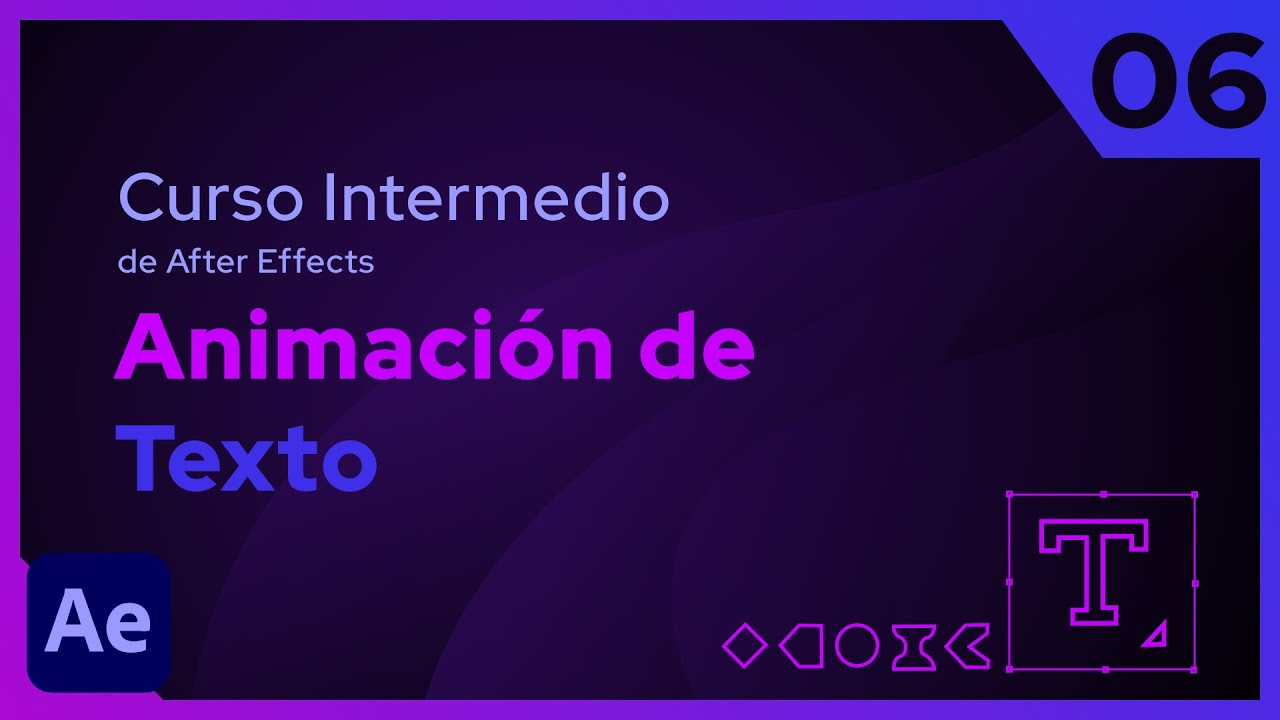 Animación de Texto | After Effects - Tutorial