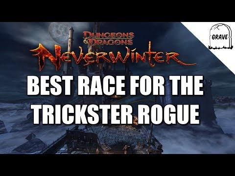 (PS4) Neverwinter Best Race For The Trickster Rouge. Neverwinter Gameplay
