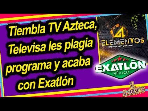 Televisa le da cucharada de su propio chocolate a Azteca, les copia programa que termina con Exatlon