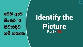 Identify the Picture - Part 02 | Shanethya TV
