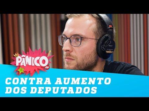 Vinicius Poit promete lutar contra aumento salarial de deputados