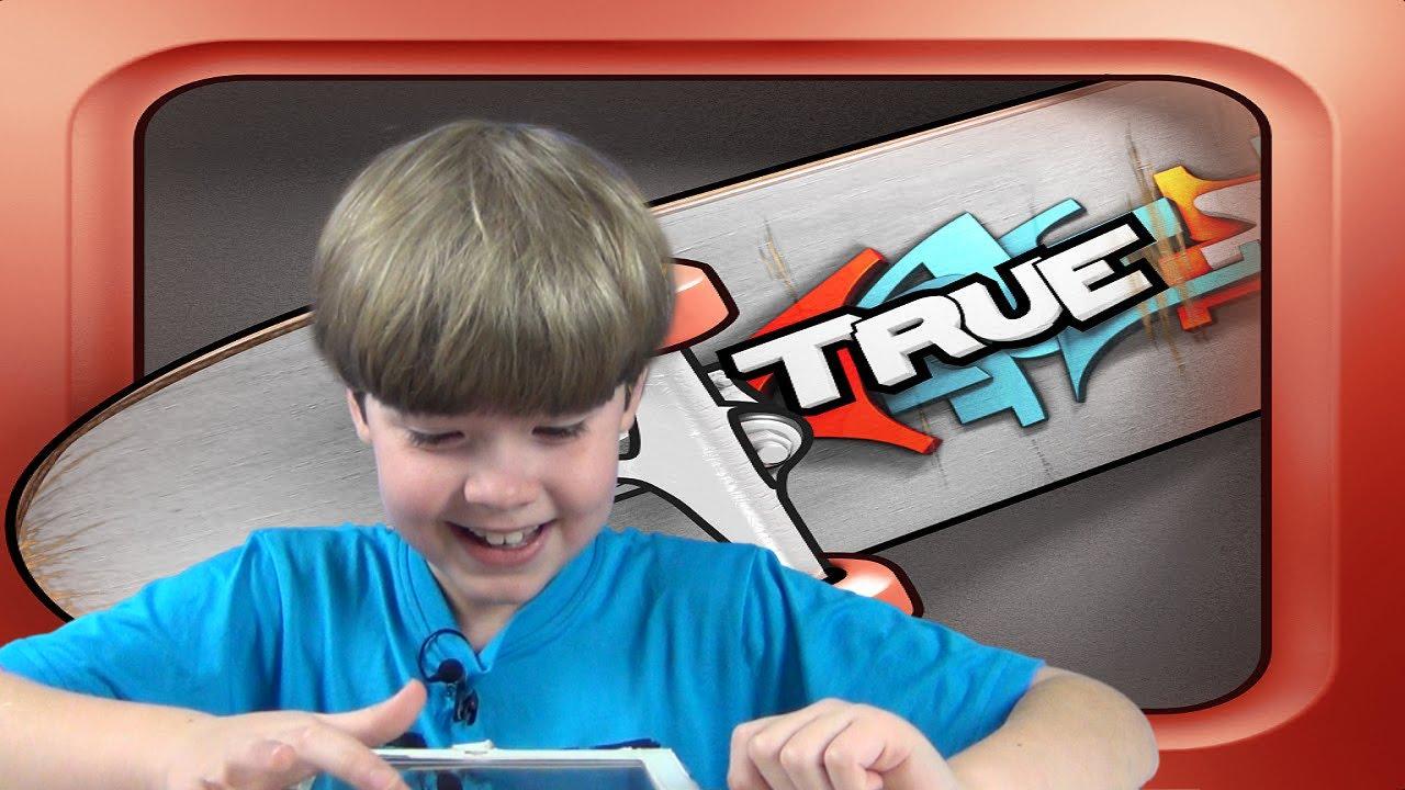 True skate mobile games kid gaming youtube for Teure mobel