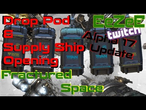 Fractured Space: Drop Pods and Supply Ships Opening