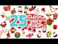 CHRISTMAS DIY COMPILATION! -25 Cute Clay ideas! 🎄