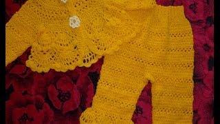Штаны для новорожденного 3-6 мес.Вяжем крючком.|Crochet