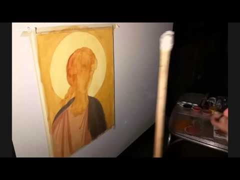 Painting of St. Archangel Michael Icon