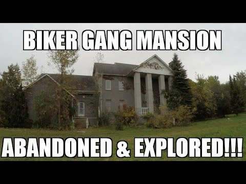 Exploring an Abandoned Biker Gang Mansion