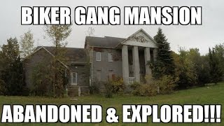 Exploring an Abandoned Biker Gang Mansion thumbnail