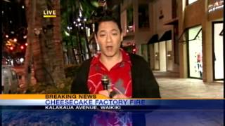 Fire Breaks Out In The Cheesecake Factory