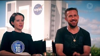 Ryan Gosling, Claire Foy & Damien Chazelle Talk 'First Man' | Studio 10