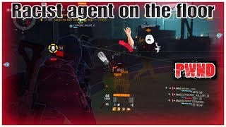 Racist salty agents exposed  and accused of RPM glitch..| The Division 1.7.1