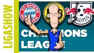 Eure Meinung   Wer kommt weiter? Bayern, Dortmund, Leipzig in CL   Ole erzählt, wie er das sieht.