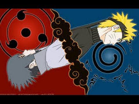 AMV - Naruto vs Sasuke - Unravel