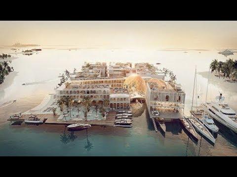 DUBAI Floating Venice Underwater Luxury Resort
