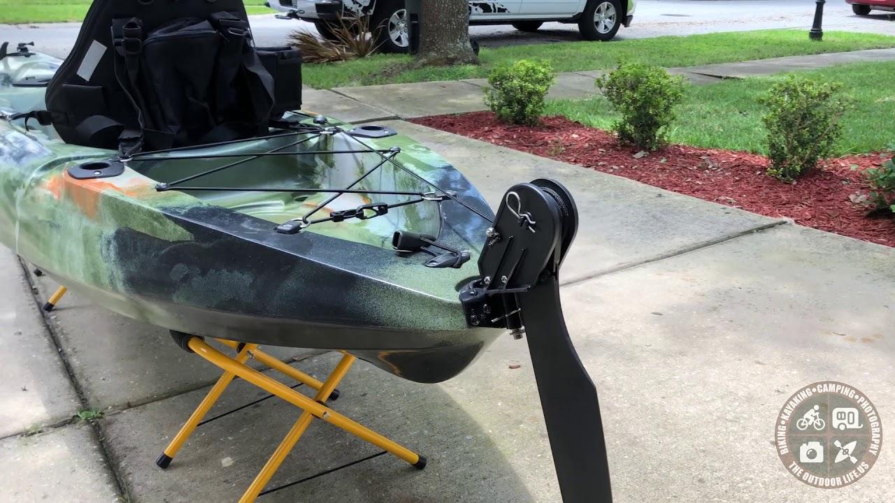 DIY: Retractable Kayak Skeg