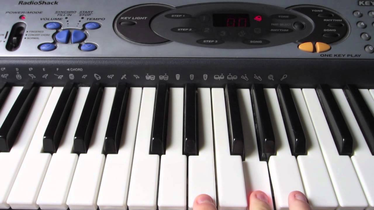 how to play batman theme on piano easy