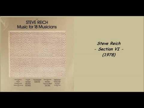 Steve reich section vi 1978 music for 18 musicians