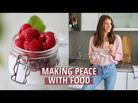 IMPROVE YOUR RELATIONSHIP WITH FOOD (with cheat sheet) // Dietitian Ana Rebelo