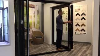 Origin USA   Corner Door - Moving corner post