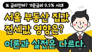 또 금리인하? 서울 부동산 집값 전세값 오를까? 떨어질…