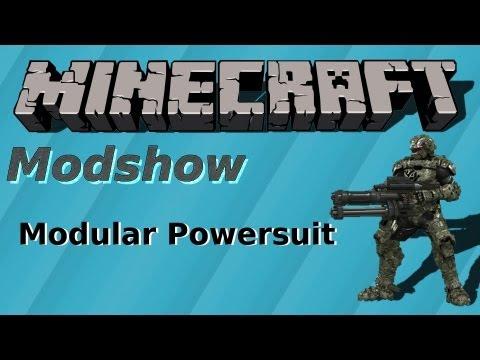 Minecraft POWERSUIT MOD