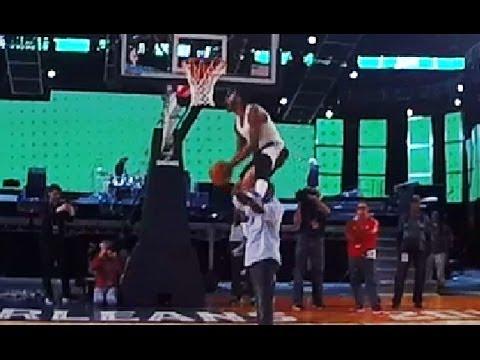 Teaching John Wall how to Win the NBA Slam Dunk Contest