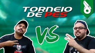 TORNEIO PES - COLUNA DO FLAMENGO VS FUTEBOL NAS 4 LINHAS
