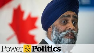 Defence minister won't say when he learned of misconduct claims against Admiral McDonald
