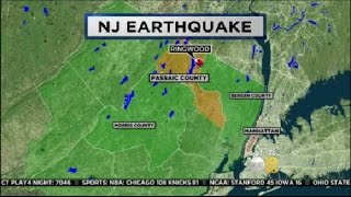 Earthquake Shakes NJ