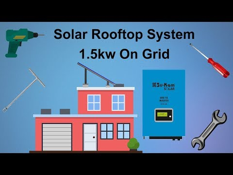 Solar Rooftop System | 1.5kW On-Grid Solar System