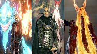 Nioh 2 - All Boss Fights & Ending (All Bosses) Nioh 2 2020 PS4 Pro