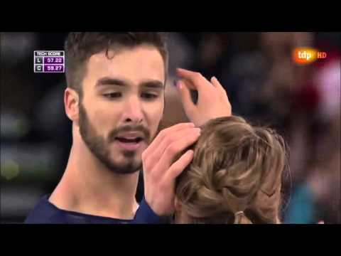 Gabriella Papadakis  Guillaume Cizeron  Danza Final Boston 2016