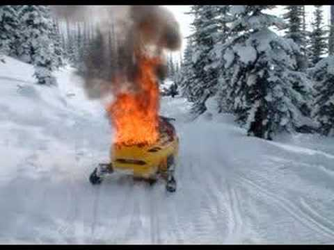 Karyon Bogan Sleigh For Broken Down Snowmobiles Doovi