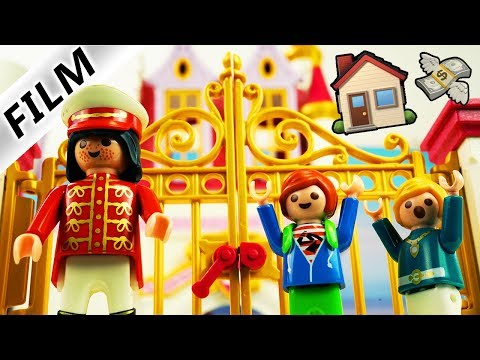 Playmobil Film Deutsch JULIANS NEUES HAUS! DAS MILLIONÄR-DUELL MIT NILS SCHNÖSEL! Familie Vogel