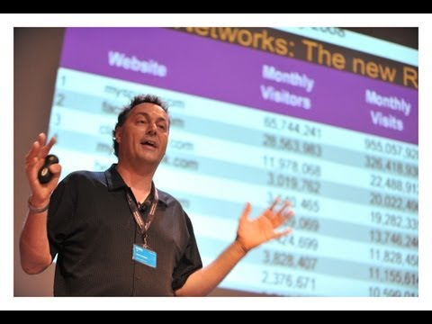 The Future of Mobile (i.e. everything:) Futurist Gerd Leonhard at Mobile Convention Amsterdam