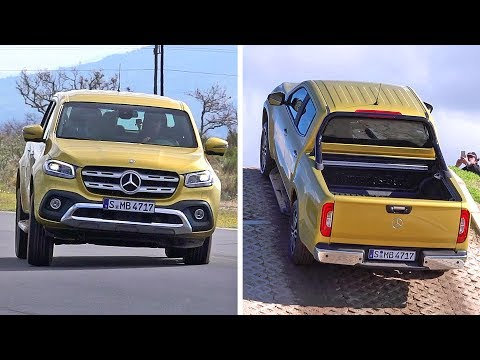 Mercedes X Class 2018 Off Road and Track Test