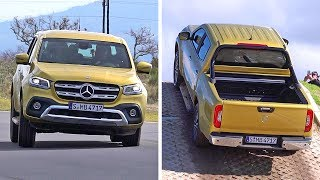 Mercedes X-Class (2018) Off-Road and Track Test [YOUCAR]