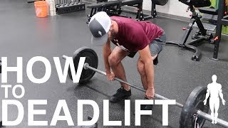 HOW TO DEADLIFT exercise tutorial - functional strength training drill | Human 2.0