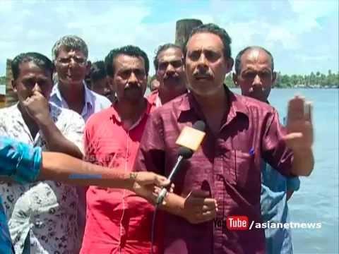 Azhikode Munambam harbour construction stopped : Fisherman's go to Strike