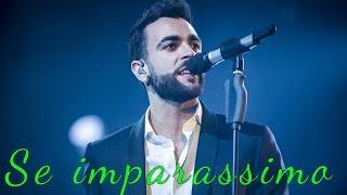 MARCO MENGONI - SE IMPARASSIMO (INEDITO 2016) Live Lugano 14 Novembre 2016