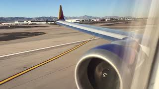 HD southwest 737-MAX8 takeoff from PHX