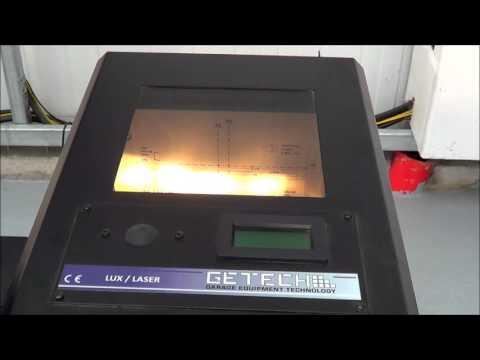 Headlight Tester | Beam Setter | Getech Garage Equipment